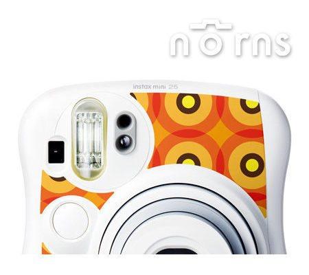 NORNS MINI25 專用FUJIFILM富士原廠拍立得相機機身貼紙 【Sunshine款】
