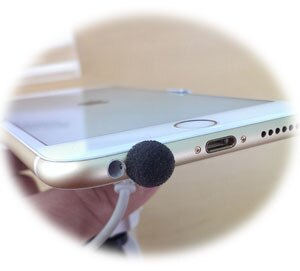 手機、PDA  黏貼式 麥克風防風罩 - 戶外或騎車專用 - 小荳荳防風貼 (2入裝)
