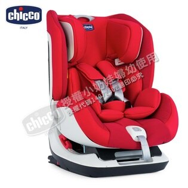 Chicco - Seat Up 012 ISOFIX 0-7歲汽車安全座椅(汽座) -自信紅