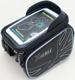 《意生》2016新款六色X-FREE 009遮光上管馬鞍包 腳踏車上管包小馬鞍手機袋手機座自行車包手機包置物袋馬鞍袋