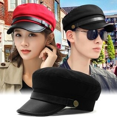 軍帽 女帽子-休閒時尚潮流棒球帽2色57j51【韓國進口】【米蘭精品】