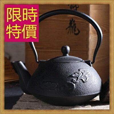 日本鐵壺 茶壺-鑄鐵泡茶品茗南部鐵器水壺老鐵壺1款61i21【日本進口】【米蘭精品】
