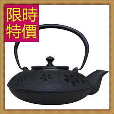 日本鐵壺 茶壺-鑄鐵泡茶品茗南部鐵器水壺老鐵壺2款61i37【日本進口】【米蘭精品】
