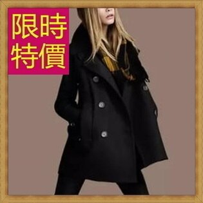 毛呢外套 長版大衣-溫暖氣質優雅羊毛女風衣3色61n10【韓國進口】【米蘭精品】