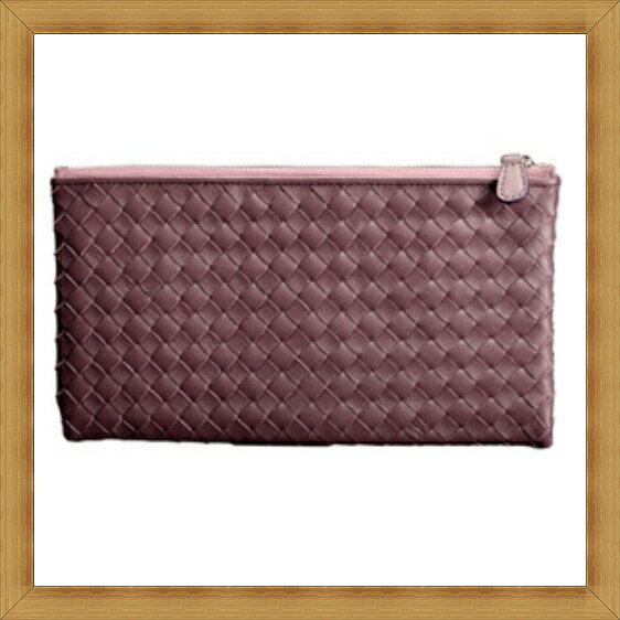 編織包 真皮手拿包-羊皮經典手工時尚女包包6色6b31【法國進口】【米蘭精品】