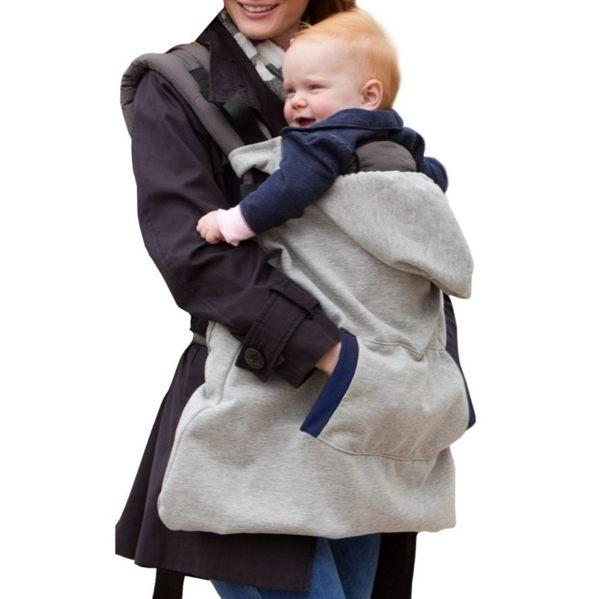 EMMA商城~嬰兒背帶腰凳用保暖加厚披風斗篷