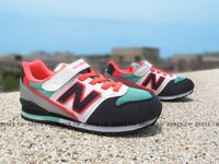 New Balance 美國慢跑鞋/跑步鞋推薦Shoestw【KV996DMY】NEW BALANCE 996 童鞋 運動鞋 中童 黑桃 蒂芬妮綠