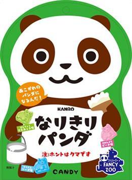 有樂町進口食品 日本進口 KANRO 甘樂熊貓造型綜合糖 65g 4901351018576 - 限時優惠好康折扣