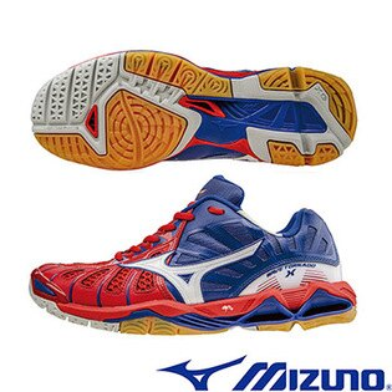 V1GA161202(紅X白X藍)WAVE TORNADO X 頂級排球鞋 A【美津濃MIZUNO】