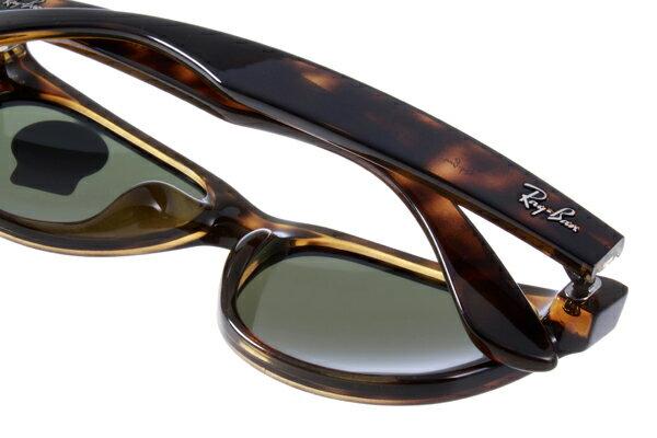 Ray Ban 雷朋 琥珀玳瑁色 RB2140 太陽眼鏡  加大&正常版 5