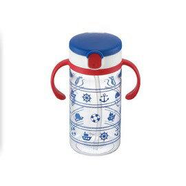 Richell利其爾 - LC吸管水杯 320ml (藍)