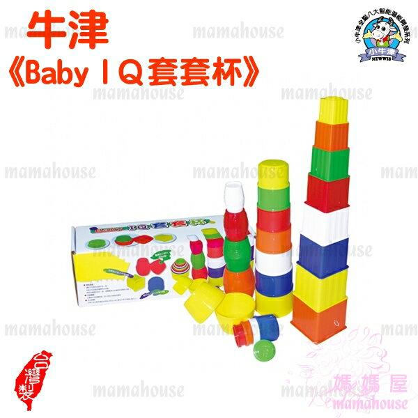 《牛津教具.Baby IQ套套杯》益智疊疊樂.趣味玩具.手眼腦統合協調.小肌肉訓練.台灣製造