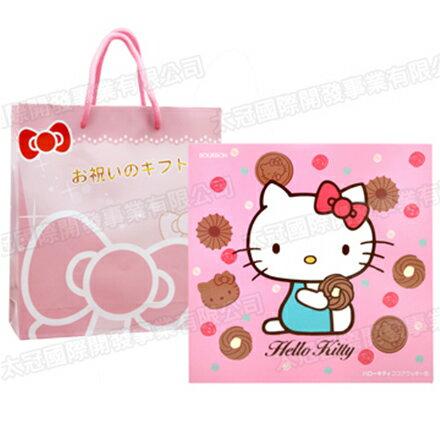 【敵富朗超巿】Bourbon北日本Kitty巧克力餅乾禮盒(賞味期限2016.12.04) 1