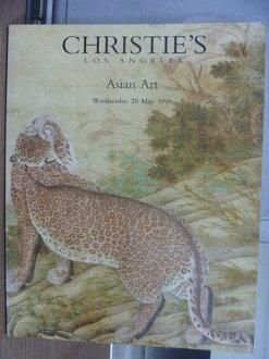 【書寶二手書T1/收藏_PLX】Christie's_Asian art_1998/5/20