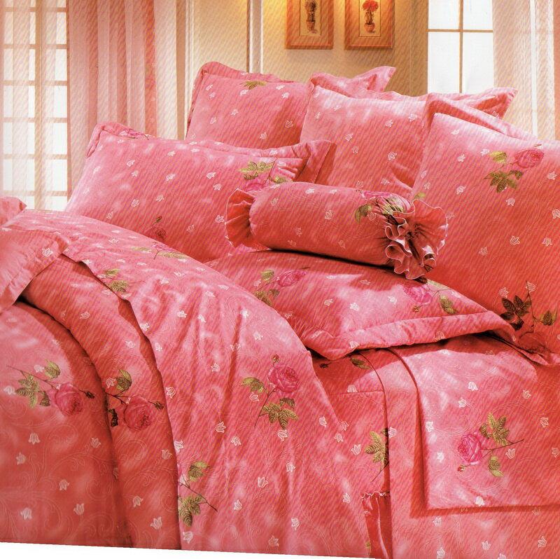 [床工坊]台製高級精梳棉 (單面花色床罩四件組)-無抱枕 0