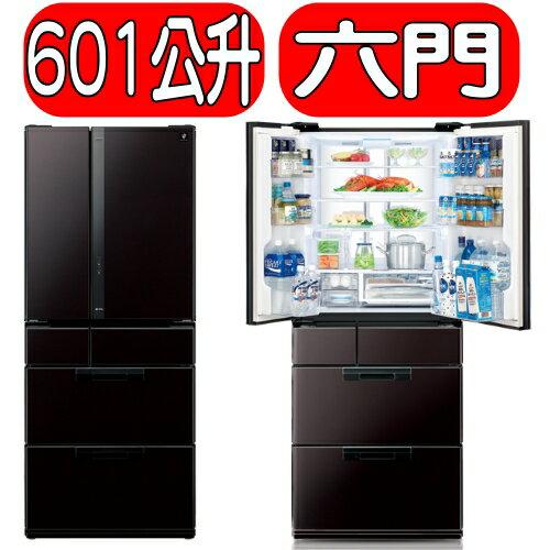 《特促可議價》Sharp 夏普【SJ-GF60X-T】《601公升》日本原裝六門冰箱