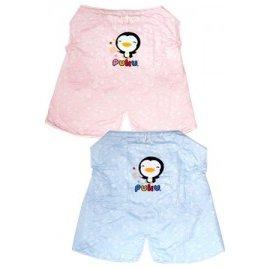 PUKU藍色企鵝 - 溫馨多功能揹巾被 (水藍/粉紅) 0