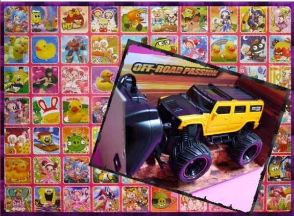 【王董的柑仔店】70洞洞樂外附百貨公司上架款超級遙控悍馬車(限量)