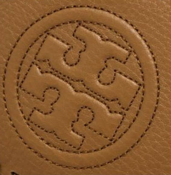 【Tory Burch】編織鍊條多夾層斜背包(棕) 3