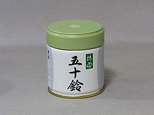 【海洋傳奇】日本丸久小山園抹茶粉五十鈴 40g罐裝 宇治抹茶粉 薄茶 烘焙抹茶粉 0