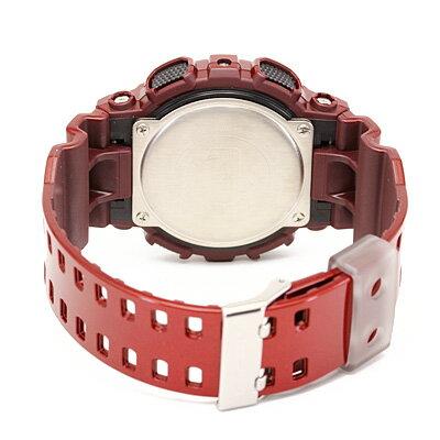 國外代購 CASIO G-SHOCK 炫光金屬街頭-紅 GA-110NM-4A   防水 手錶 腕錶 電子錶 2
