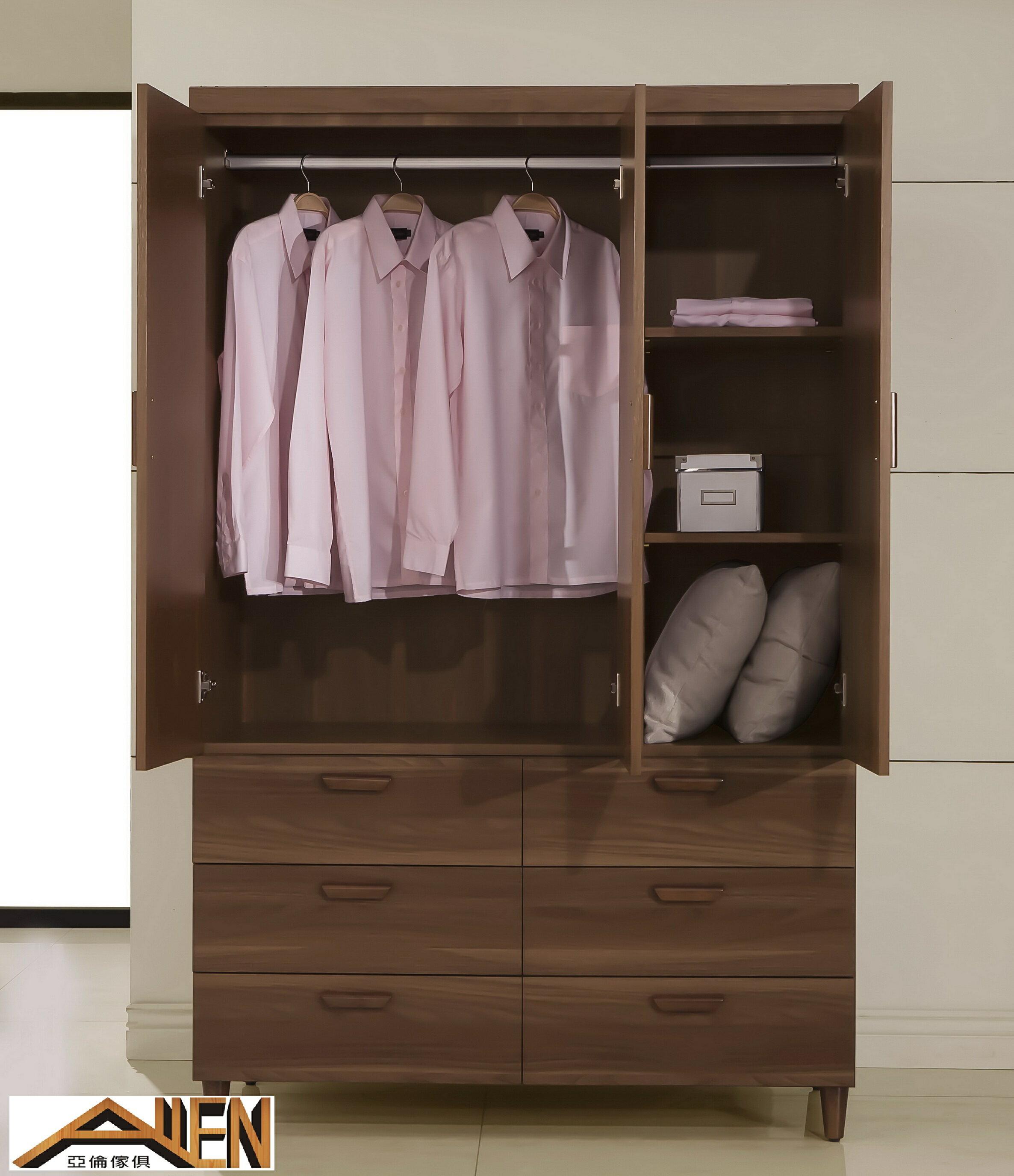 亞倫傢俱*阿勞德4*7尺衣櫥 1