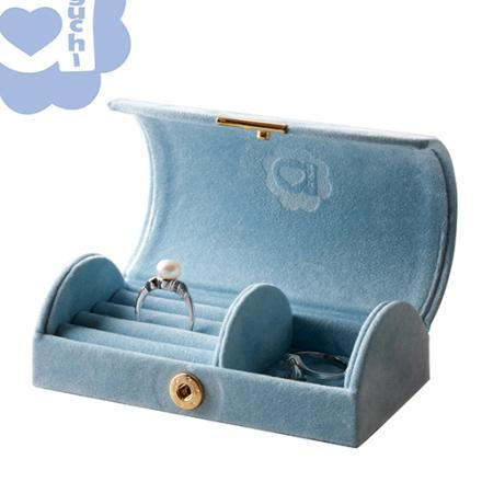 【Aguchi 亞古奇】玩美精靈-幸福藍 珠寶盒 1