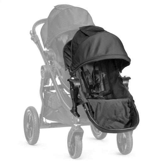 美國【Baby Jogger】City Select 推車專用雙人第二座椅(黑) 0