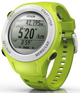➤路跑教練【和信嘉】EPSON Runsense SF-110G  SF110 運動手錶(綠色) 跑步訓練 運動感測器 (含手錶功能) 公司貨 原廠保固一年