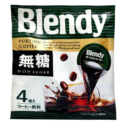 【AGF出品】 Blendy濃縮咖啡球-無糖黑咖啡(72g)