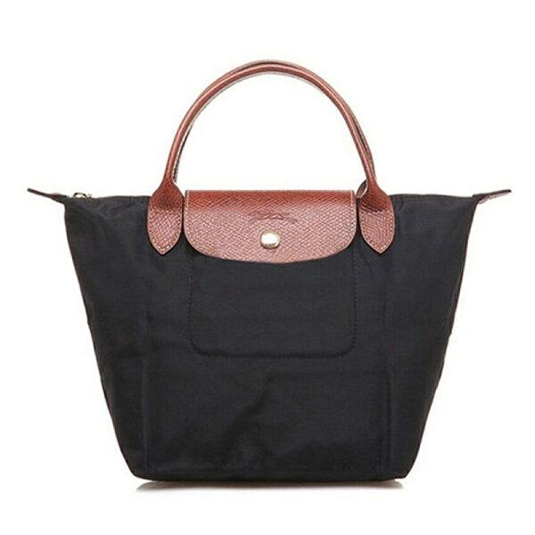 Longchamp 1621 089 001 水餃包 尼龍折疊短柄迷你手提包十六色