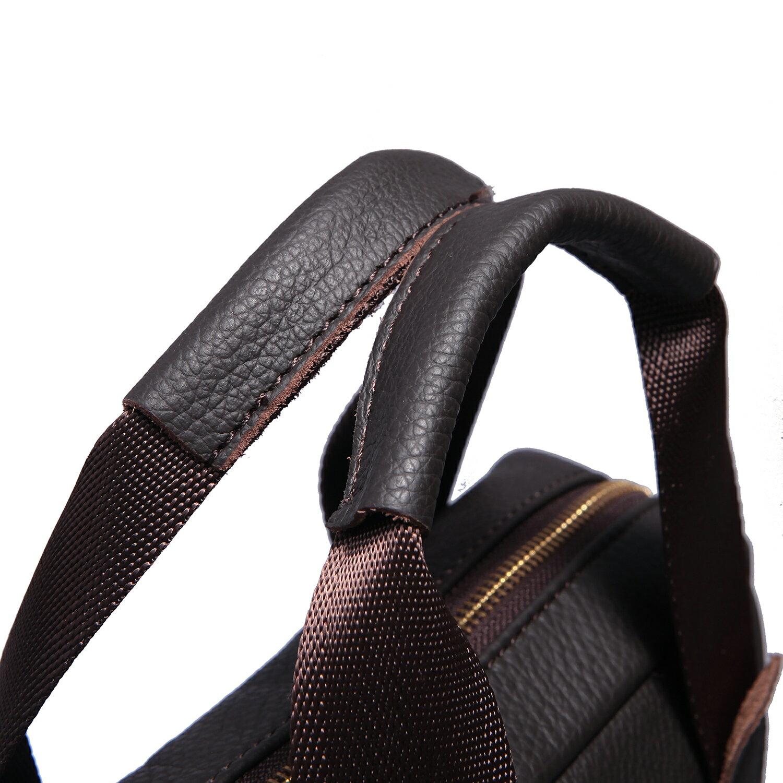 【BEIBAOBAO】首爾貴族真皮兩用包 (時尚黑 共兩色) 5