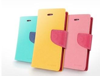 HTC One M7(單卡版)保護套 MY Style雙色皮套 宏達電 M7撞色支架插卡皮套