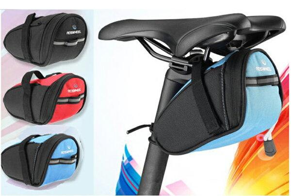 【露營趣】中和 TNR-085 自行車坐墊包 座墊包 鼠尾包 工具袋 工具包 反光警示