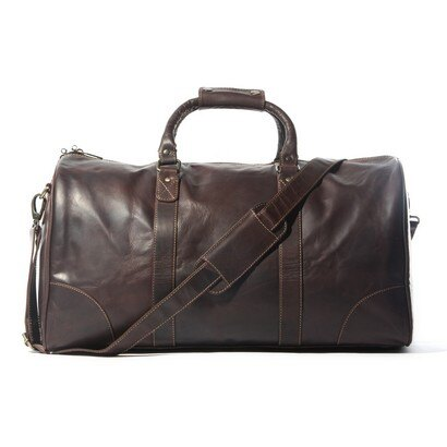 Woodland Leather Corsa Leather Grip Bag / Travel Bag 0