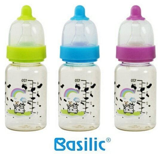貝喜力克 防脹氣PES葫蘆型奶瓶 120ml  S 三色 ~  好康折扣