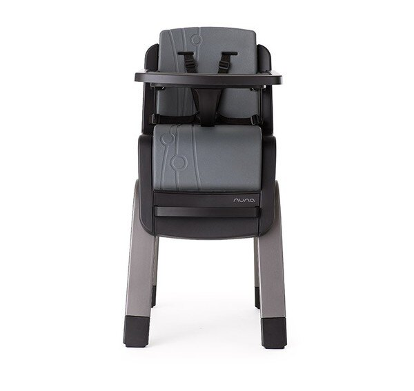 NUNA - ZAAZ高腳椅 (灰黑) 贈品牌手提袋+可愛玩偶吊飾,加贈NUBY鮮果園禮盒!