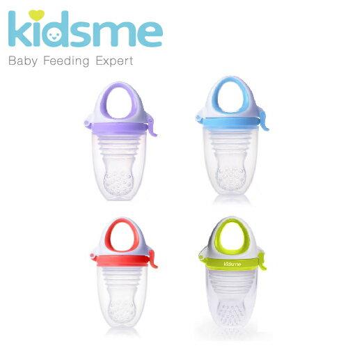 英國【Kidsme】風琴式咬咬樂輔食器 -4色 0