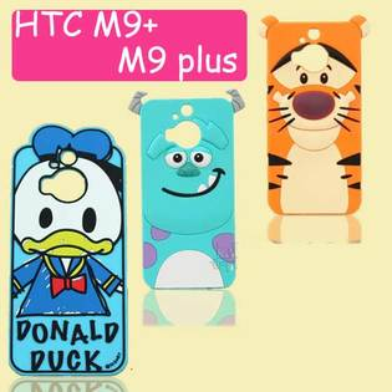 【賣萌3C】hTC ONE M9plus 復古卡通 E9plus手機殼保護套矽膠套卡通手機殼