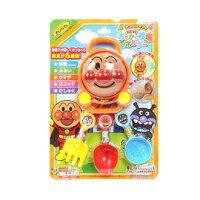 彌月禮盒推薦沙灘戲水玩沙玩具-Baby Joy World-【日本Anpanman 麵包超人】海邊沙灘玩沙挖沙玩具5件組