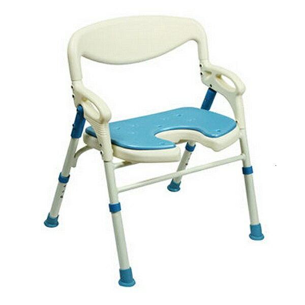 可收合洗澡椅(18吋座寬) S198