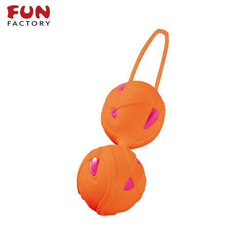 ◤按摩棒情趣按摩棒變頻按摩棒◥德國Fun Factory*SMARTBALLS teneo-duo 聰明球球雙球duo(紫紅/橘) 【跳蛋 名器 自慰器 按摩棒 情趣用品 】
