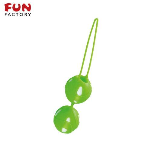 ◤按摩棒情趣按摩棒變頻按摩棒◥德國Fun Factory*SMARTBALLS teneo-duo 聰明球球雙球duo(白/鮮綠)【跳蛋 名器 自慰器 按摩棒 情趣用品 】