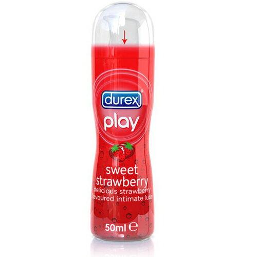 ◤潤滑液情趣潤滑液高潮潤滑液◥英國杜蕾斯 Durex Play 香甜草莓潤滑液 【跳蛋 名器 自慰器 按摩棒 情趣用品 】