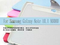 Samsung 三星到☆三星 Galaxy Note 10.1吋(N8000)平板專用三折可站立格紋皮套【清倉】