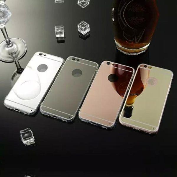 ☆蘋果iPhone 6S 4.7吋 電鍍鏡面TPU手機殼 透明全包邊矽膠殼 APPLE蘋果6/6S 手機保護套【清倉福利】