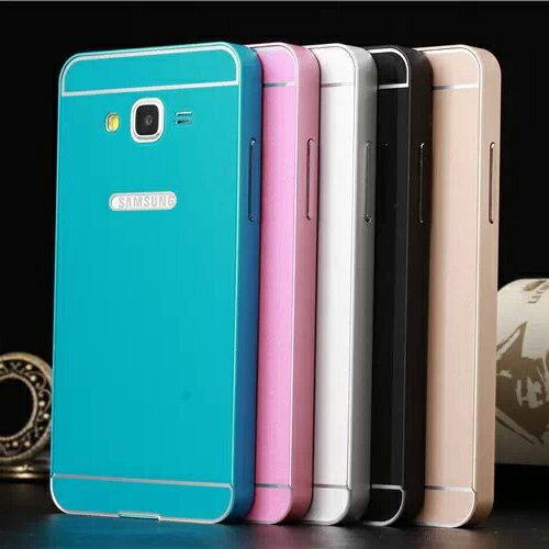 三星 Galaxy Prime G5308W 手機套 金屬邊框+壓克力背板二合一手機殼 Samsung G5308 PC背蓋 保護殼【預購】