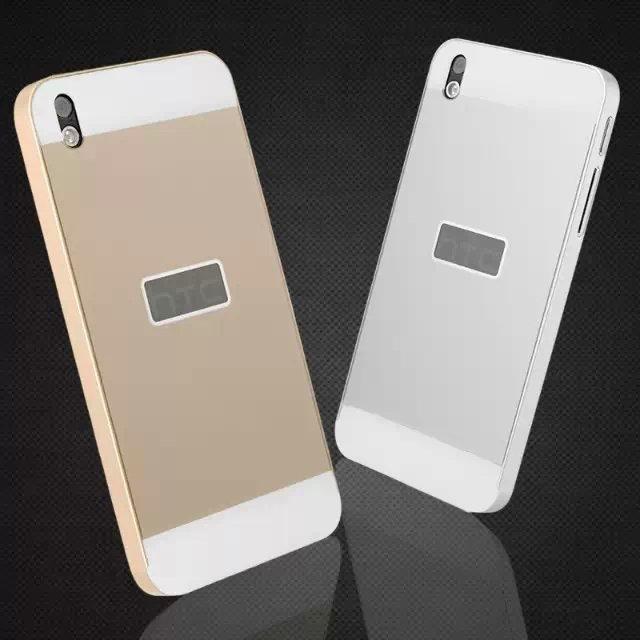 ~HTC Desire 816 金屬邊框 壓克力背板二合一手機殼 PC背蓋保護殼 宏達電8