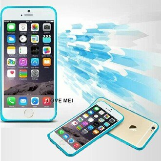 蘋果 iPhone 6 plus 5.5吋 金屬邊框 LOVE MEI 圓弧海馬扣邊框 免鎖螺絲  超薄鋁合金  Apple iphone6 plus金屬手機殼