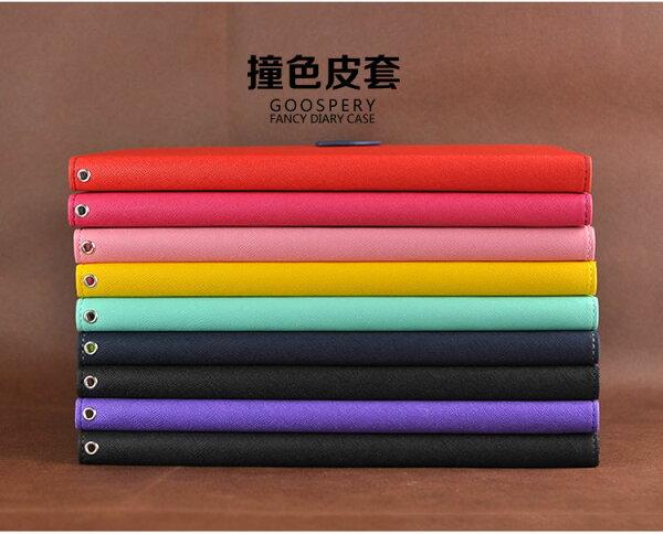 三星Galaxy Tab Pro12.2 平板保護套 韓國MERCURY GOOSPERY雙色皮套P901 P900 撞色支架插卡皮套